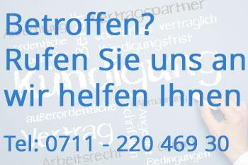 Abfindung Arbeitsrecht Fachanwalt Stuttgart